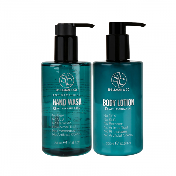 hand wash and body lotion