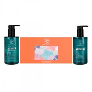 AntiBacterial Hand Wash + Shower Gel + Hand & Foot Cream Set
