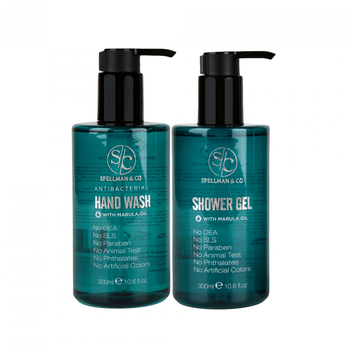 hand wash and shower gel